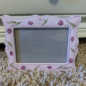 🌟HP🌟🌷Sweet Girly Tulip Picture Frame